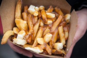 Traditional Quebec poutine