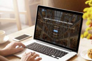 ApplyBoard platform open on a laptop