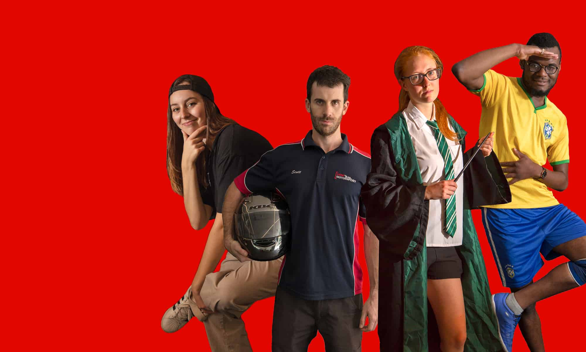 Students who are apart of different clubs at the University of Wollongong.