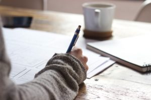 Student writing practice test