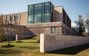 Ivey Business School building