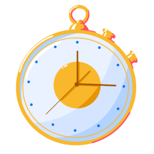 Illustration of stop watch