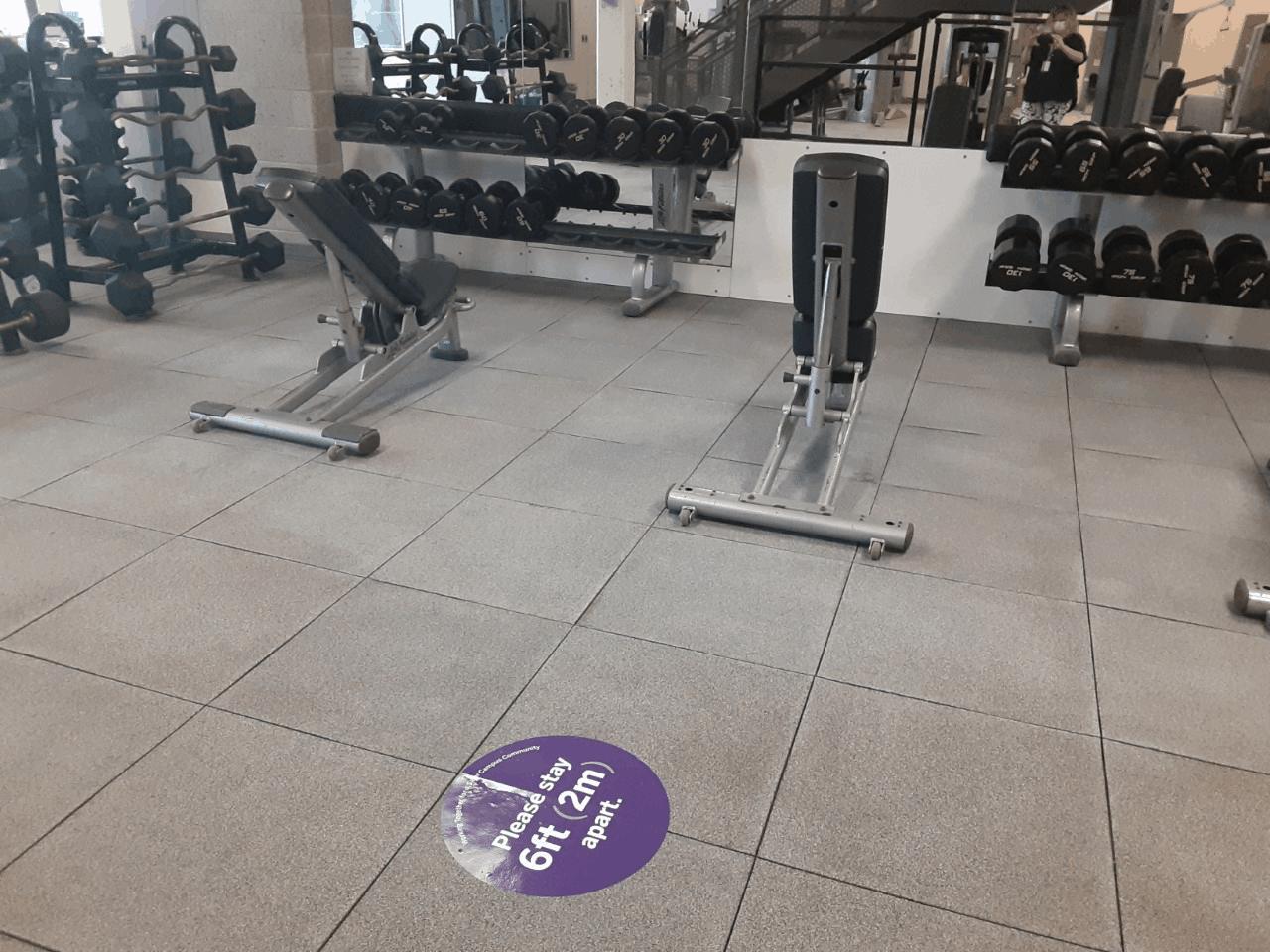 A photo of Western University's gym.