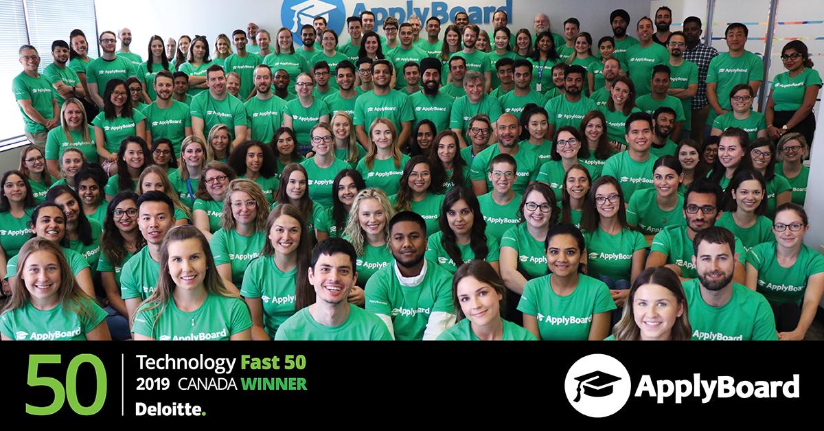 ApplyBoard - Deloitte Fast 50 Winner