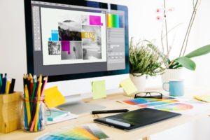 Designer's desktop
