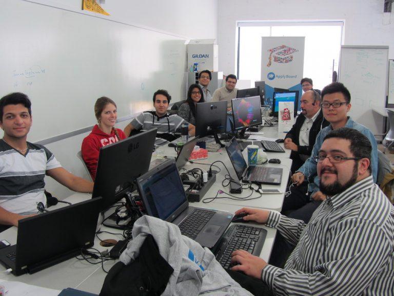 ApplyBoard staff at the Velocity Garage