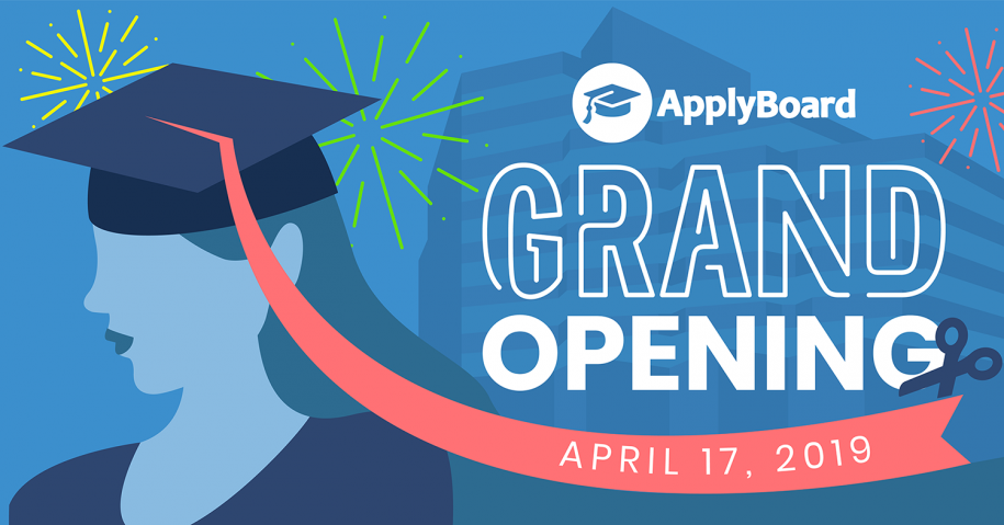 ApplyBoard Grand Opening - April 17, 2019
