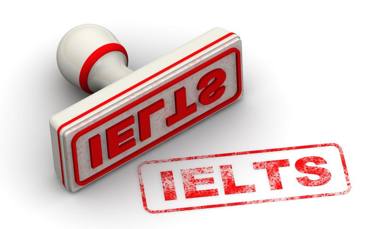 IELTS stamp graphic