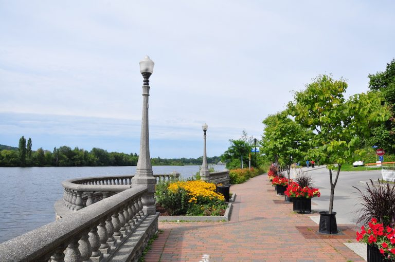 Photo of lake in Sherbrooke, Quebec, Canada