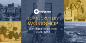 ApplyBoard Top Recruiters Workshop - September 19 to 20, 2019 - Delhi, India