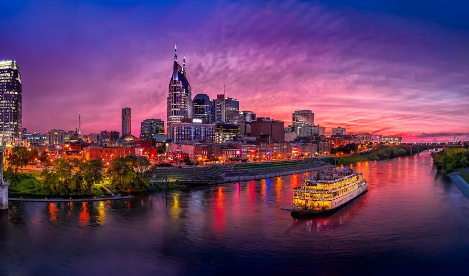 Nashville, Tennessee waterfront
