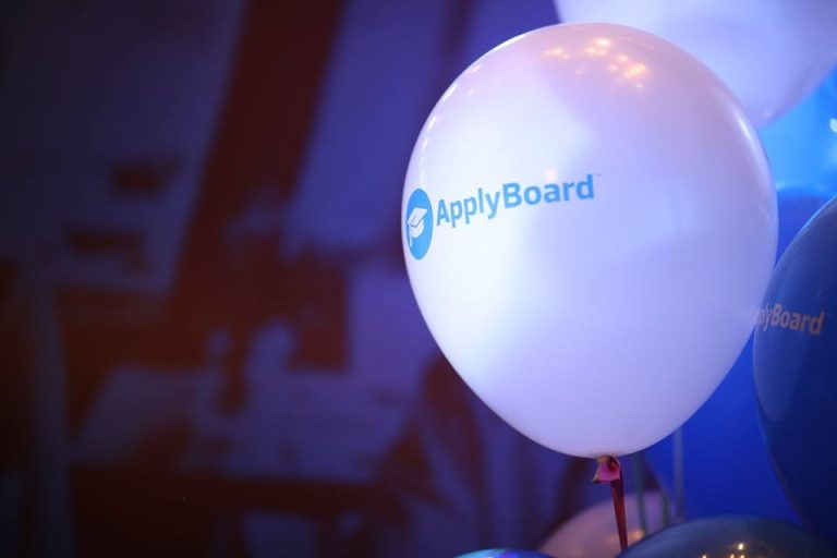 ApplyBoard balloon at Top Recruiters Workshop