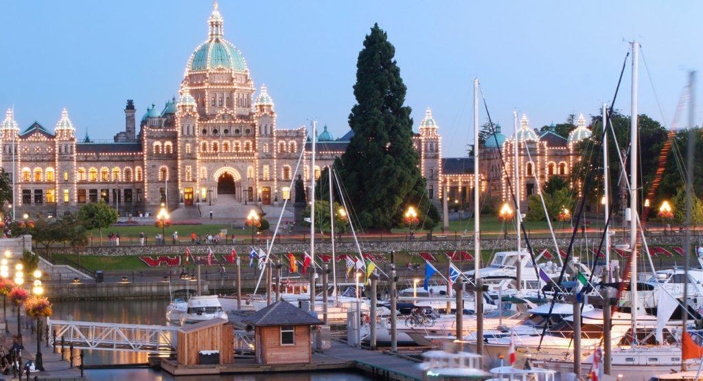 Victoria, British Columbia harbour