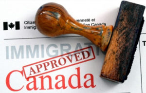 Immigration papers Canada