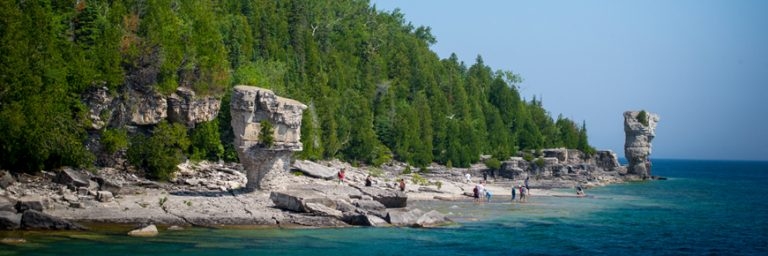 Flowerpot Island, Georgian Bay