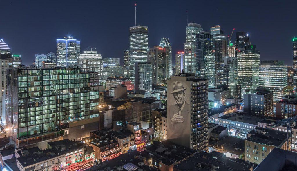 Montreal, Quebec skyline