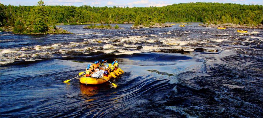 Ottawa River rafting