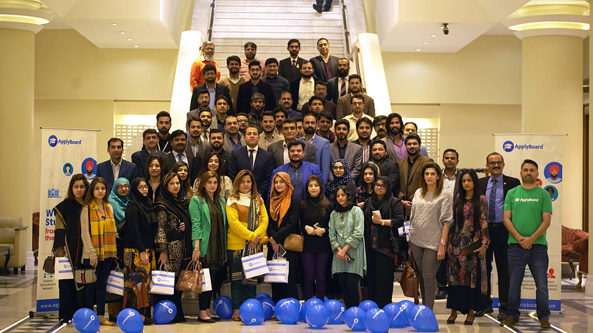 Guests at Pakistan's ApplyBoard 101 event