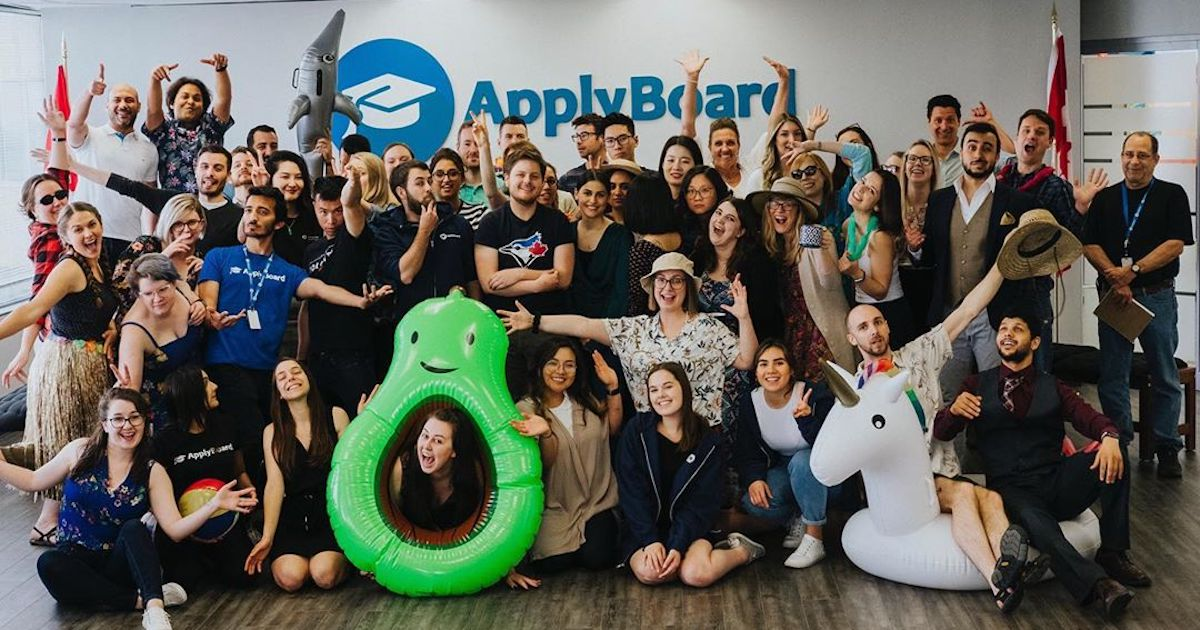 The ApplyBoard team celebrating a summer of fun in the sun