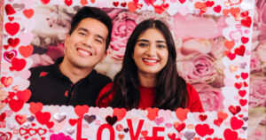 ApplyBoard's Valentine's photo booth