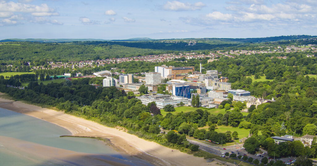 Swansea University beachside campus