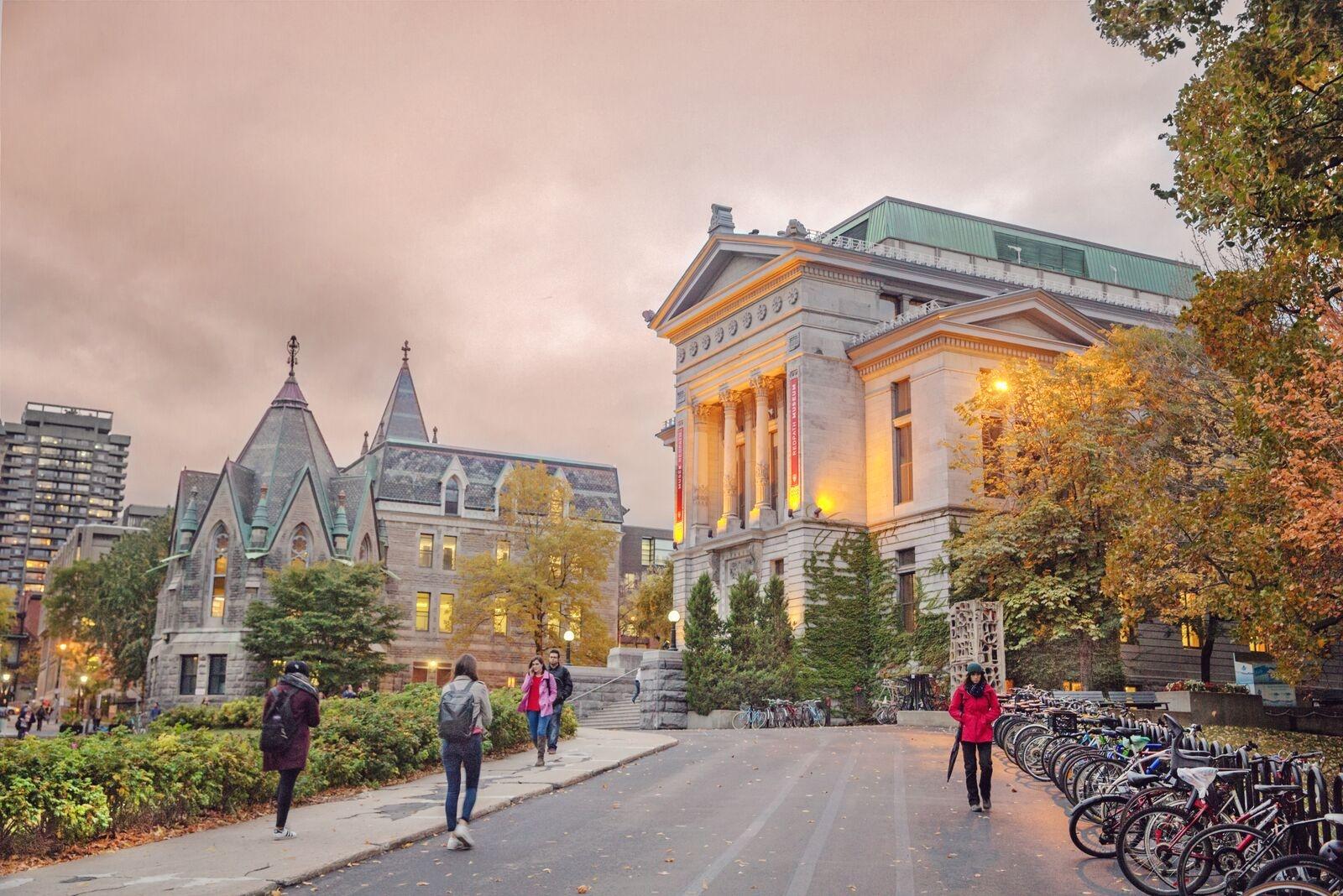 McGill University campus