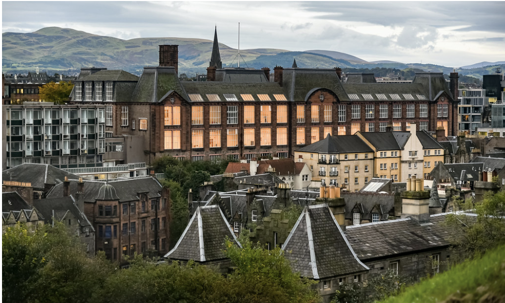 University of Edinburgh campus