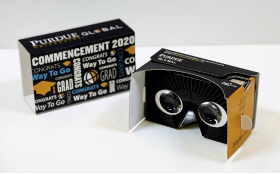 Purdue cardboard virtual reality headsets