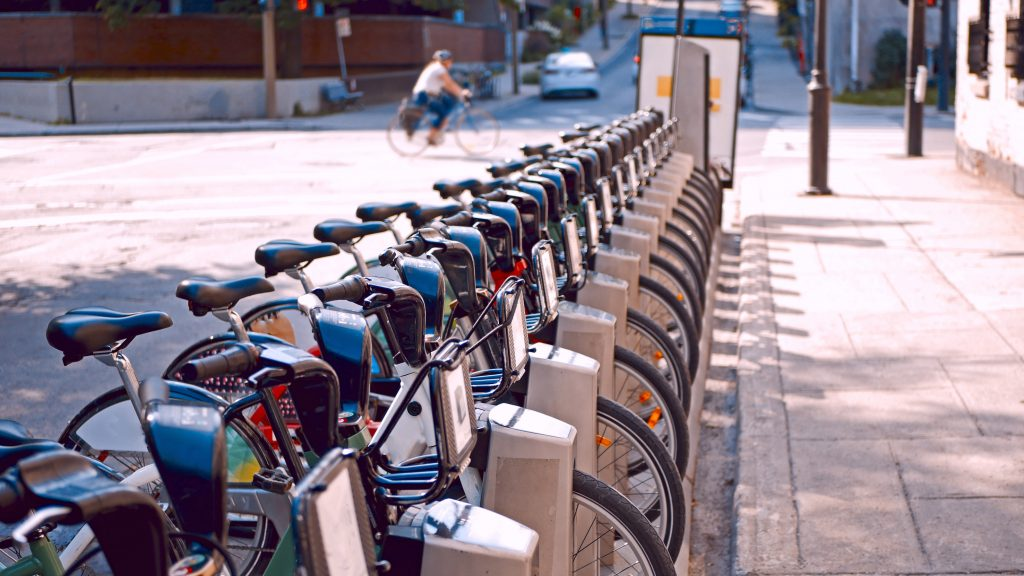 Montreal bike-sharing system