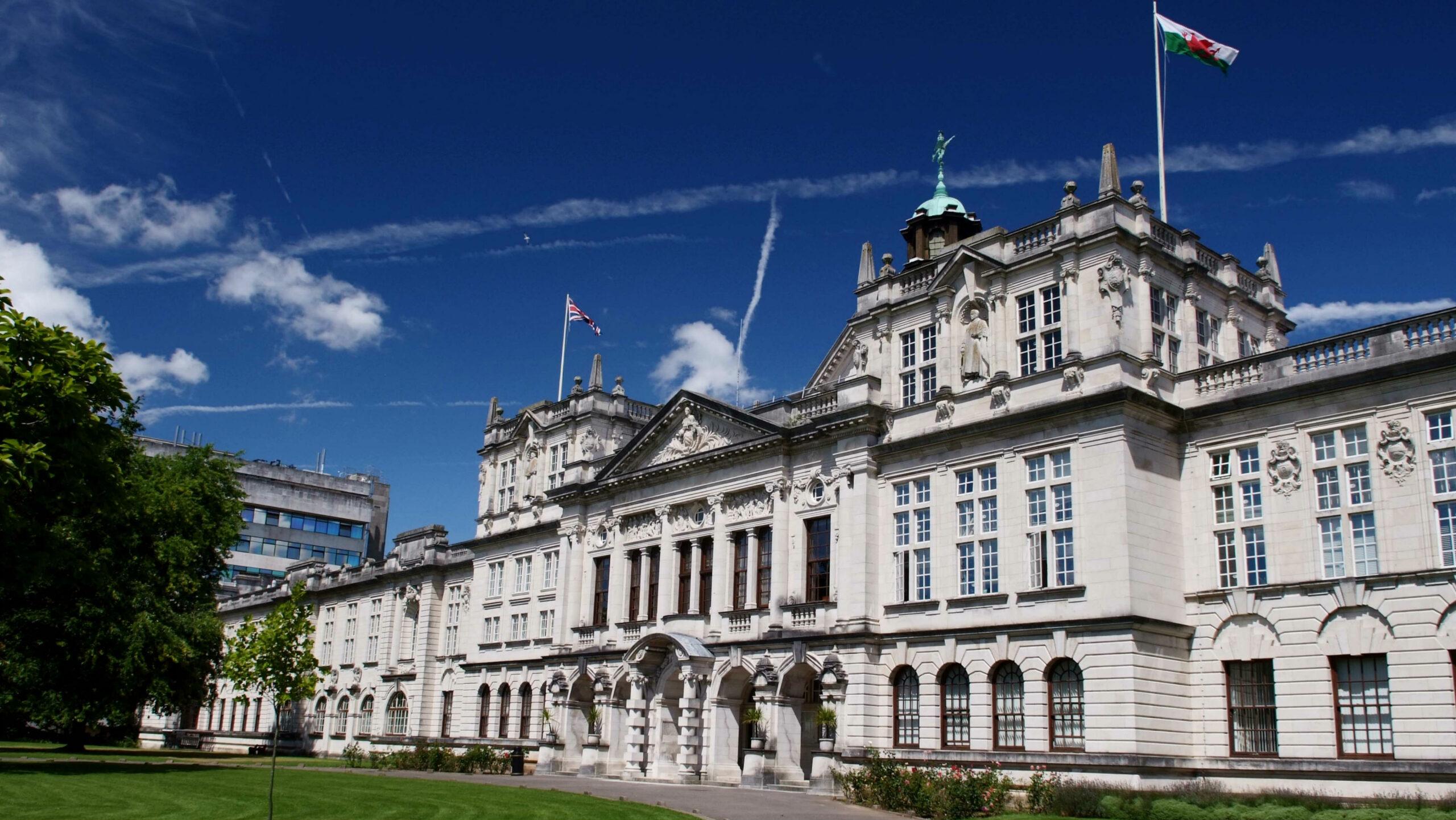 Cardiff University campus
