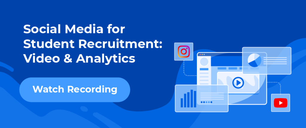 Social Media for Student Recruitment - Webinar Recording