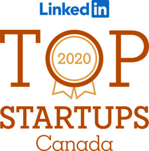LinkedIn Top Startups 2020 Canada badge