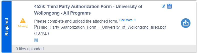 Authorization Forms