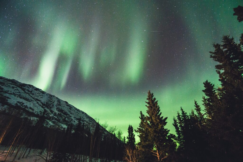 The Northern Lights in the Yukon