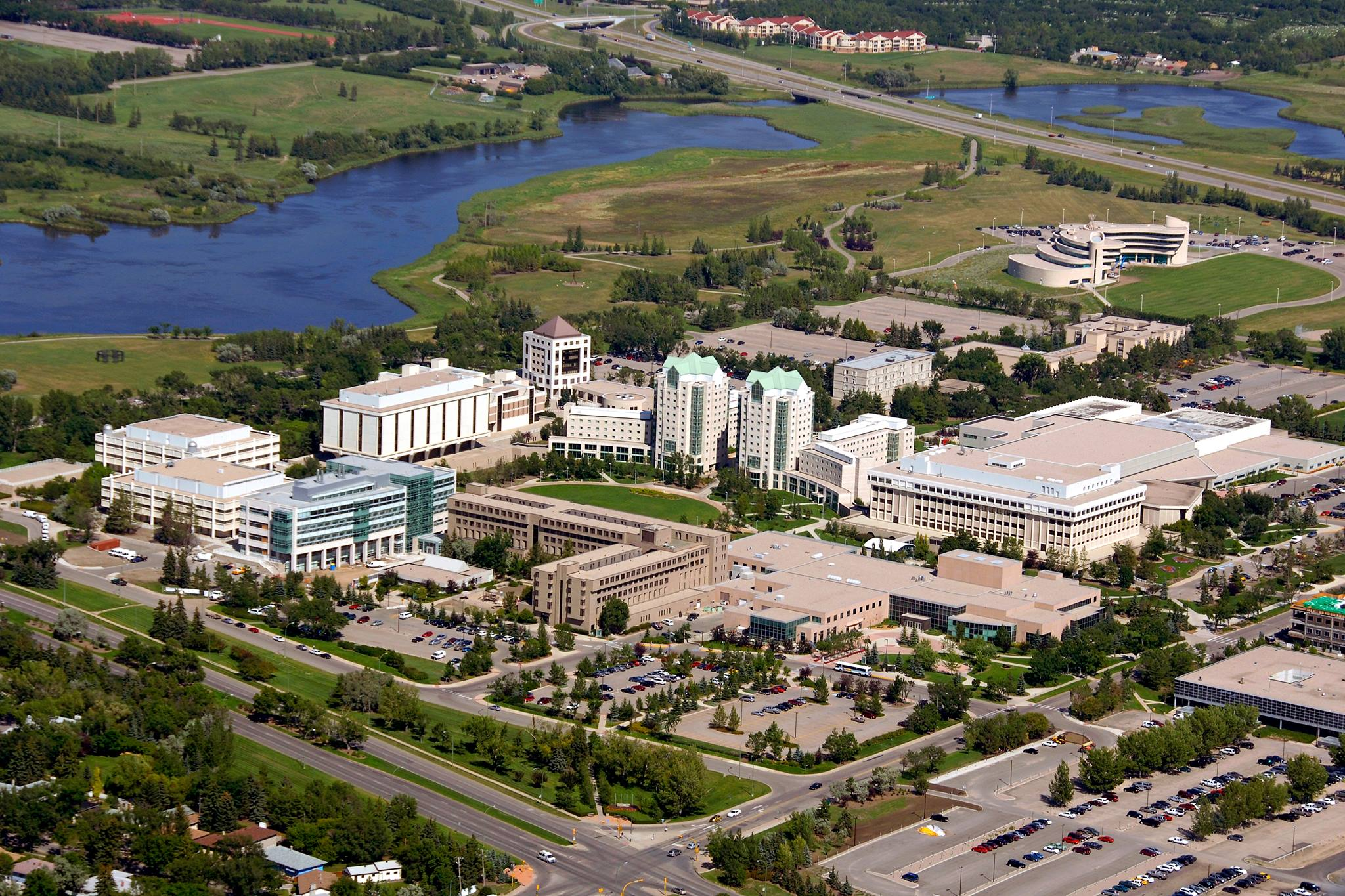 The University of Regina campus