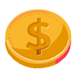 Illustration of Canadian dollar