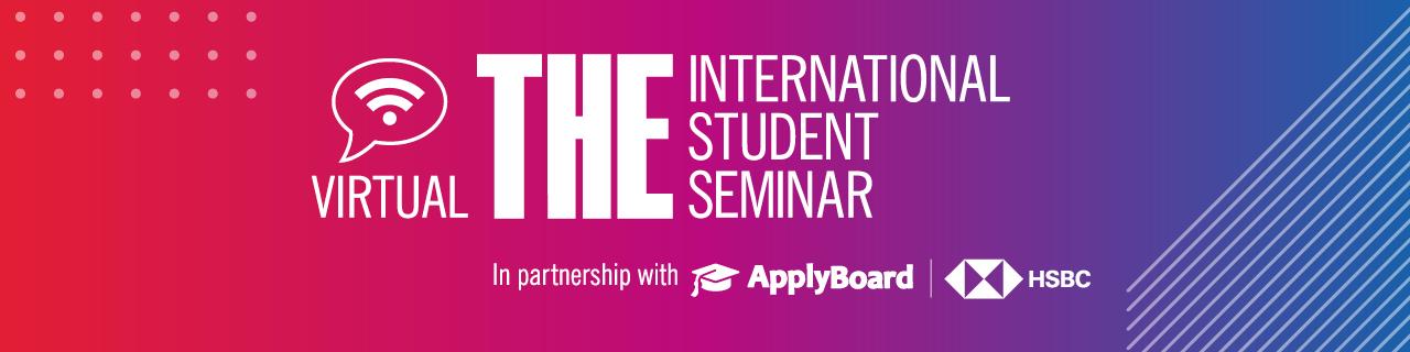 Virtual THE International Student Seminar