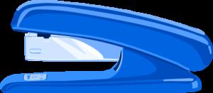 Illustration of stapler