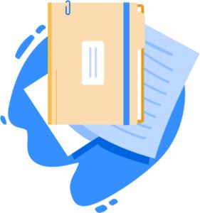 Illustration of documents
