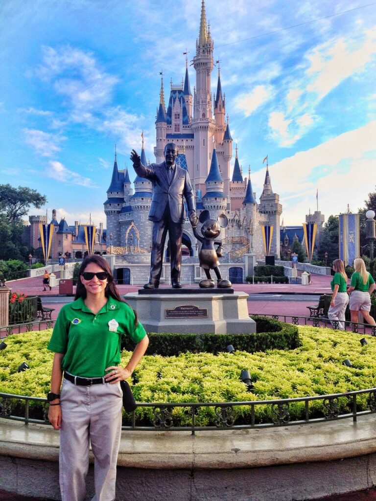 ApplyBoard Team Member, Eduarda, as a team member working at Disney