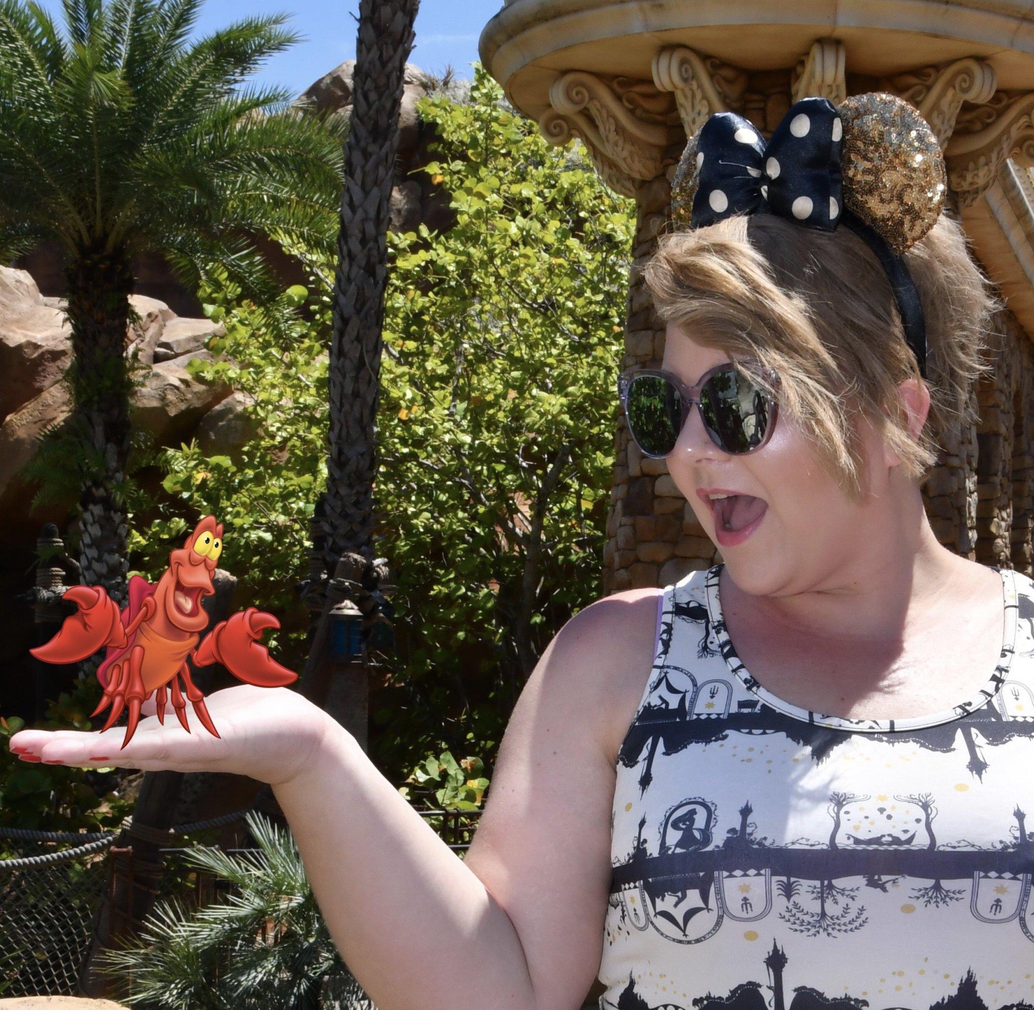 Team member posing at Walt Disney World