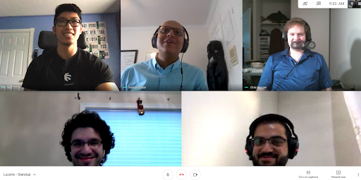 ApplyBoard staff in a virtual team meeting