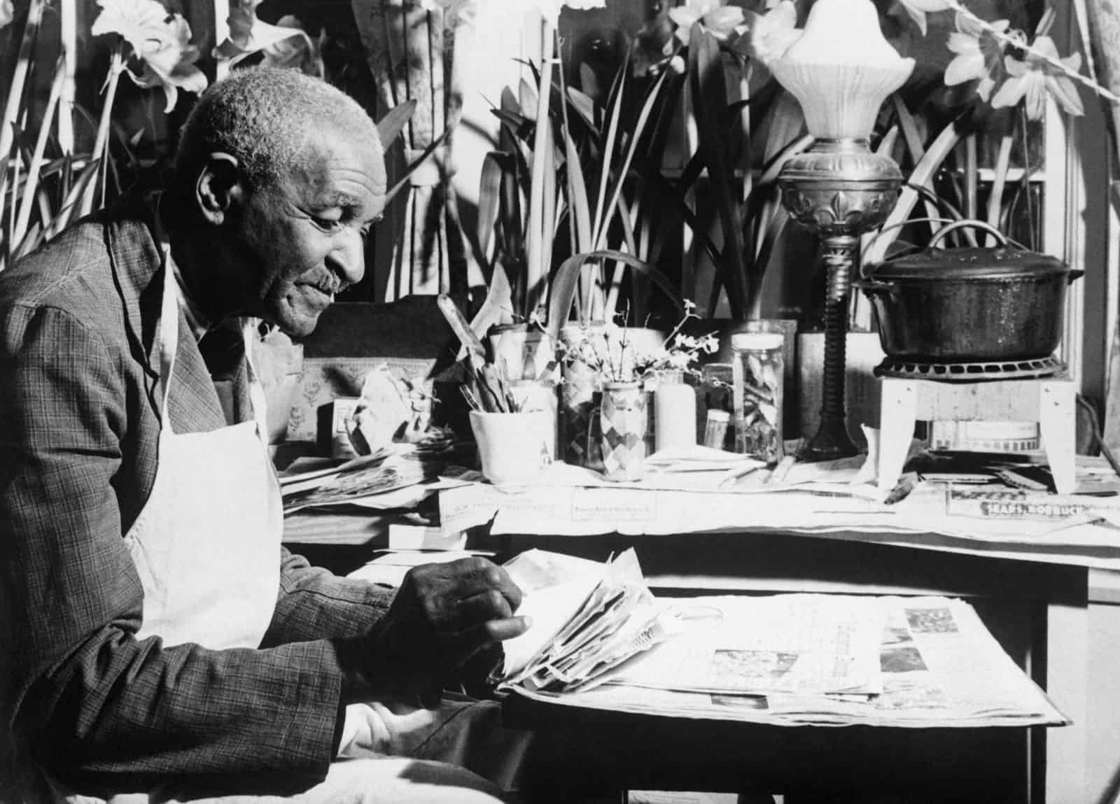 Photograph of George Washington Carver