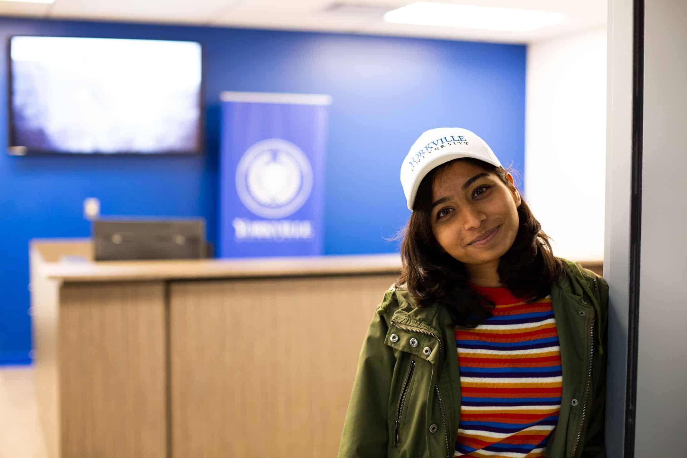 Photograph of Yorkville University student