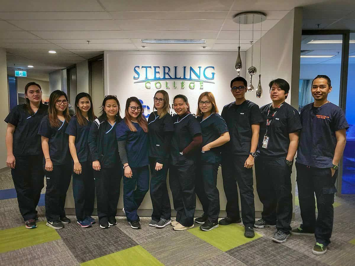 Photo of group of Red Deer College at Sterling College students