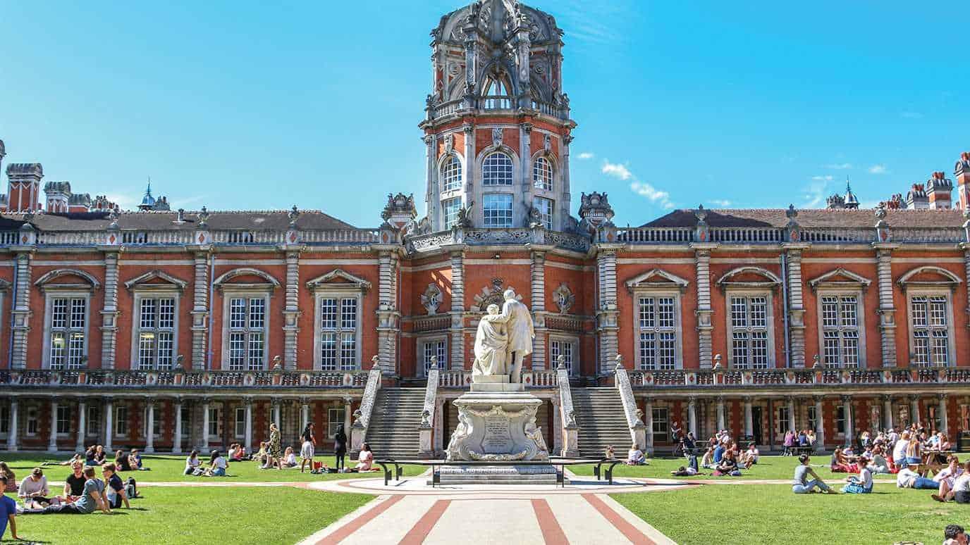 Photograph of Royal Holloway Central London Campus
