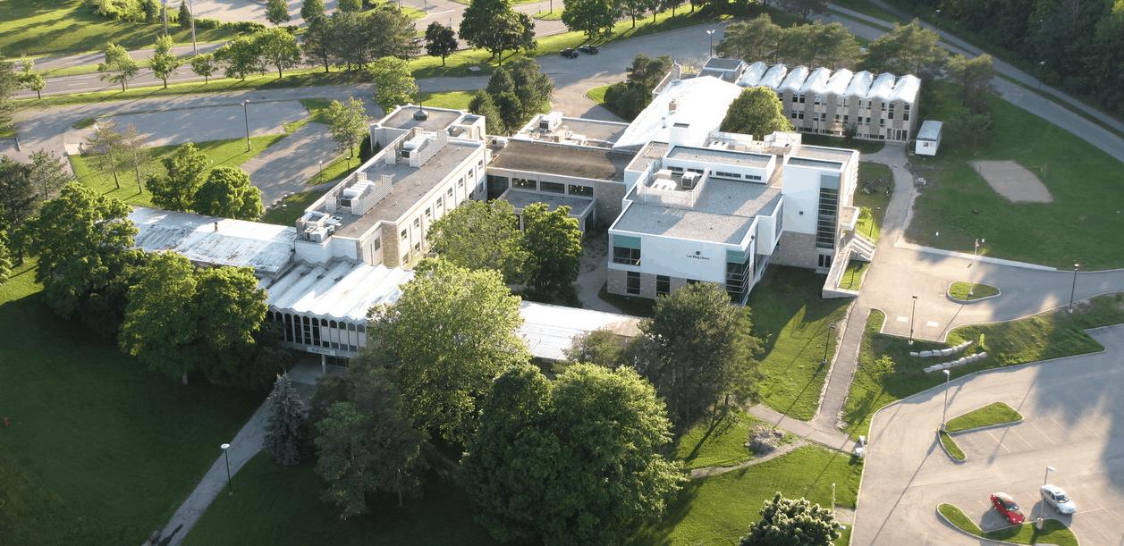 Aerial photo of Renison University College