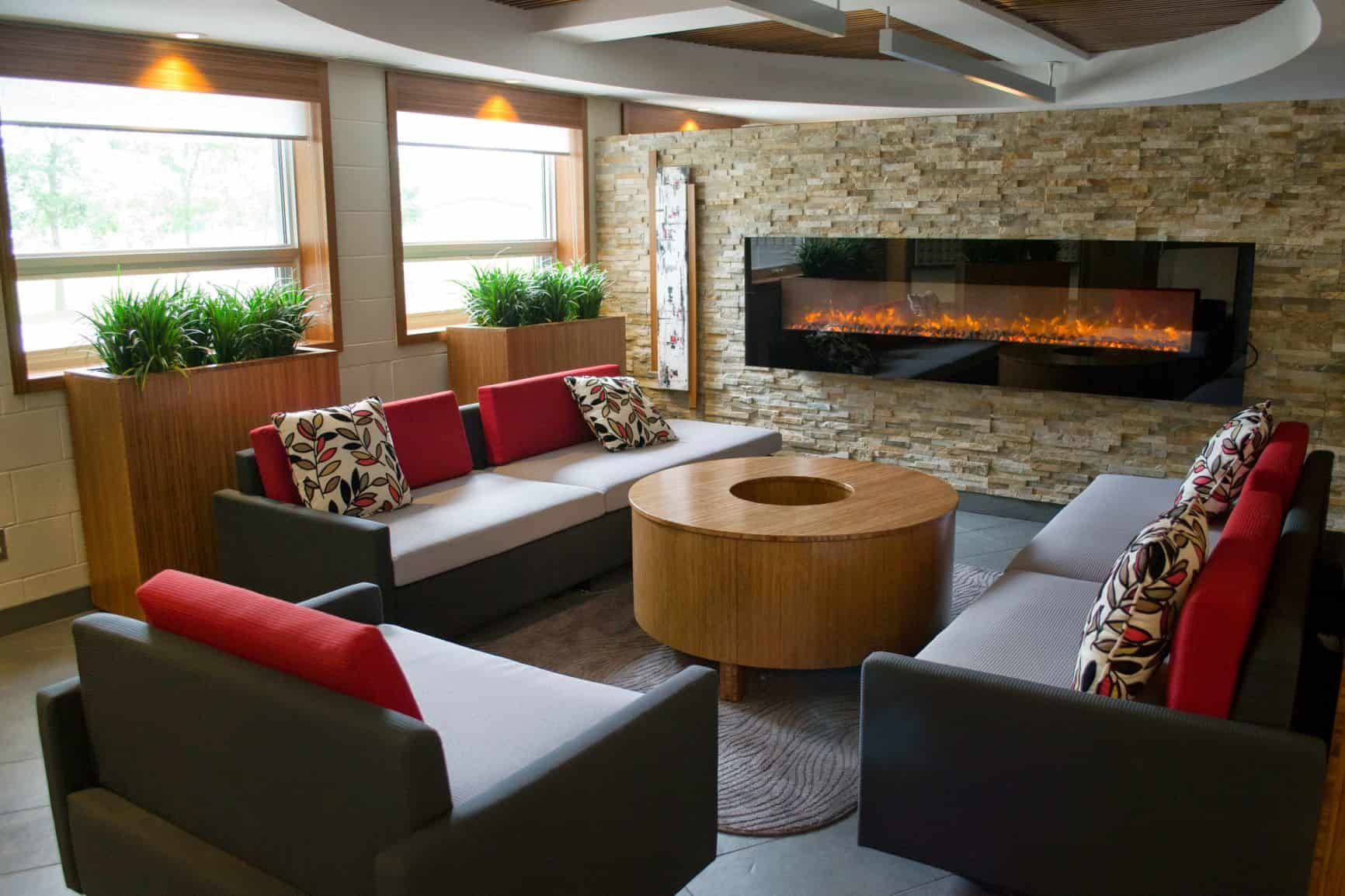 Photo of St. Lawrence College Residence Lounge