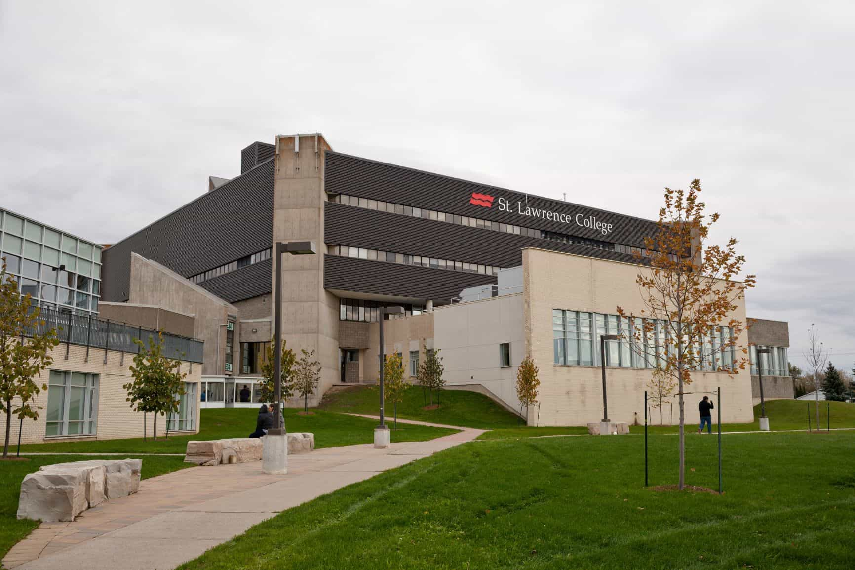 Photograph of St. Lawrence College's Kingston Campus