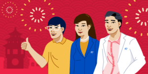 Illustration of ApplyBoard China Team